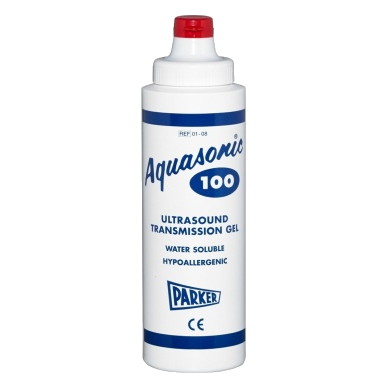 Parker Aquasonic 100 ultrasound gel